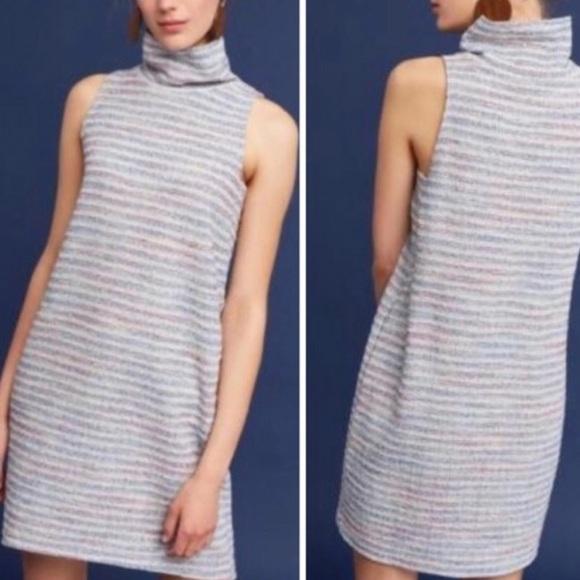 62ca0473e272 Anthropologie Dresses | Akemi Kin Mock Neck Tunic Dress | Poshmark